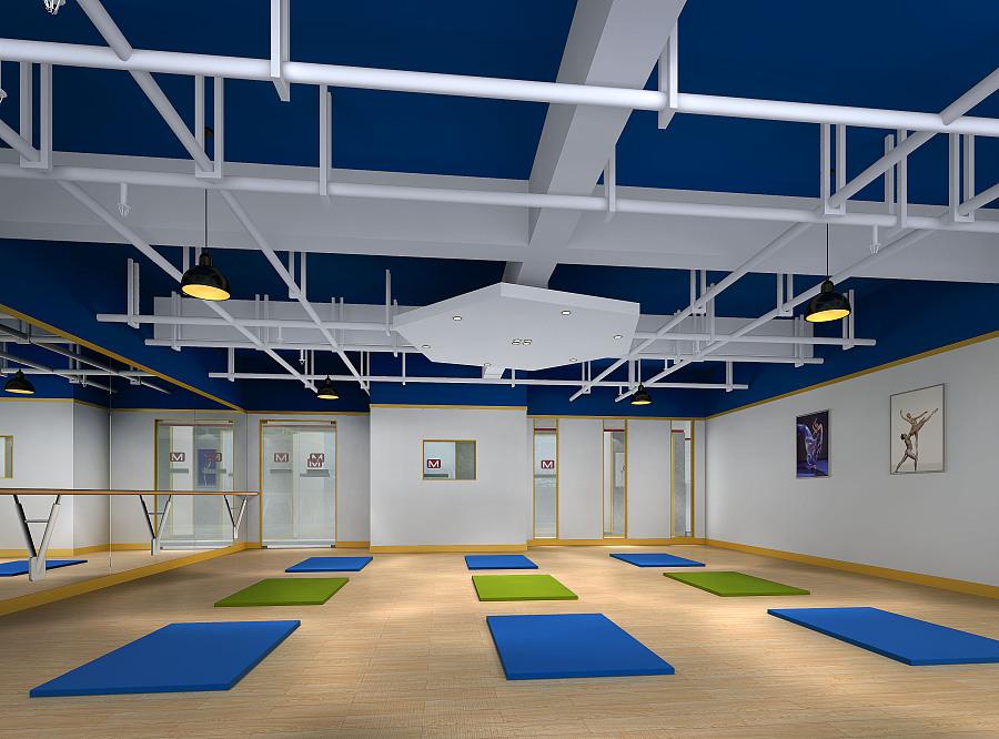 培训学校装修设计首先要有统一整体的风格,色彩,要有醒目鲜艳的形象墙