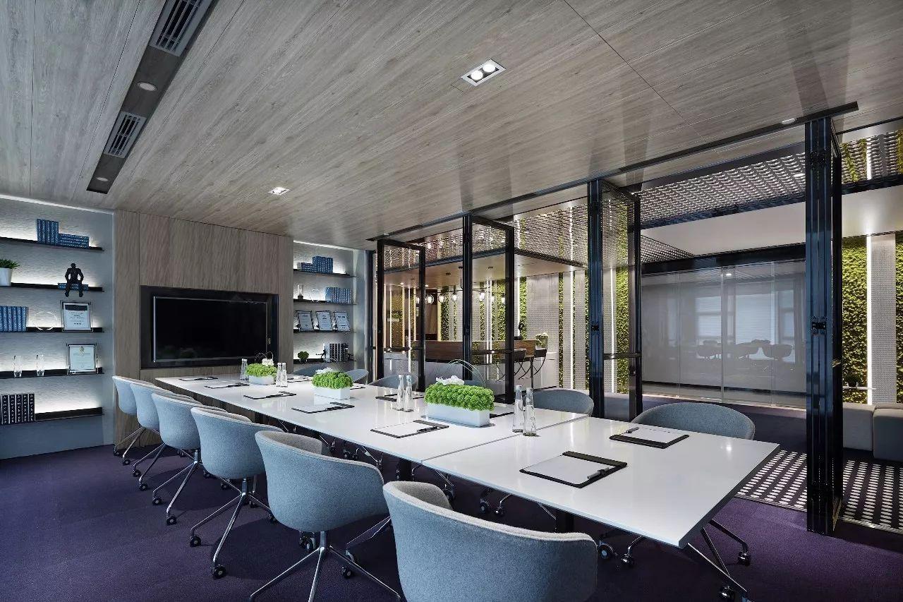 成都简单实用办公室装修设计「卓巧」简单实用办公室色彩如何运用?