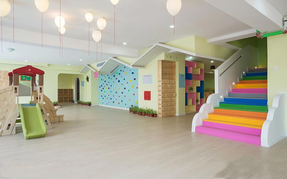 成都现代亲子幼儿园装修设计「卓巧」现代亲子幼儿园怎么装修?