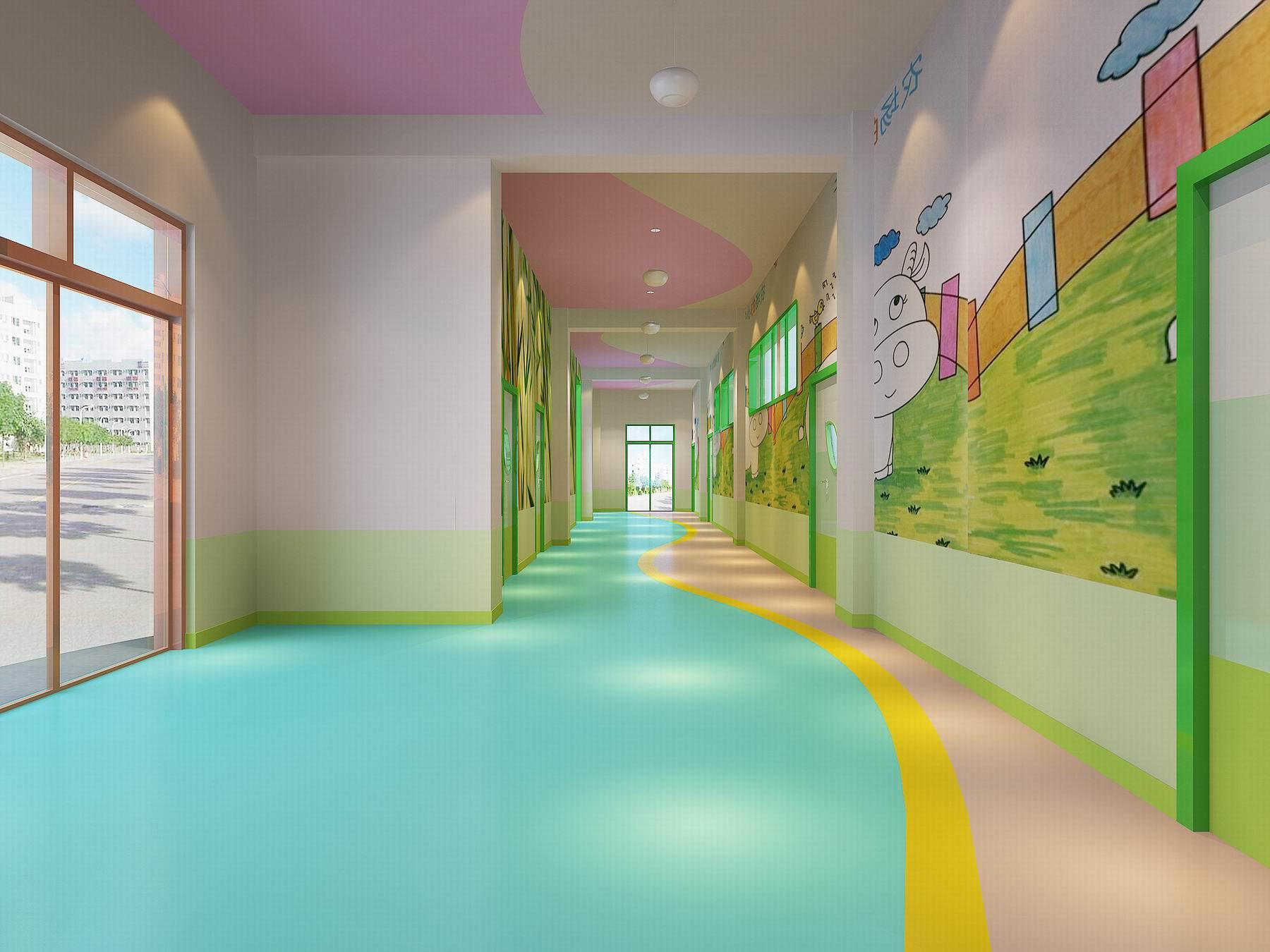 成都现代户外幼儿园装修设计「卓巧」现代户外幼儿园怎么装修?