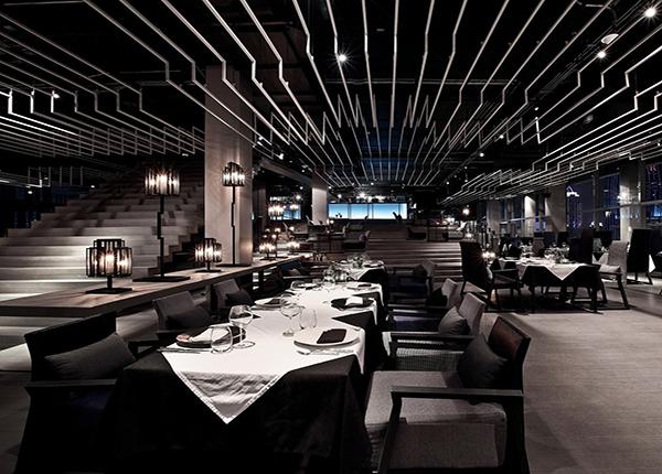 潮流西餐厅装修设计
