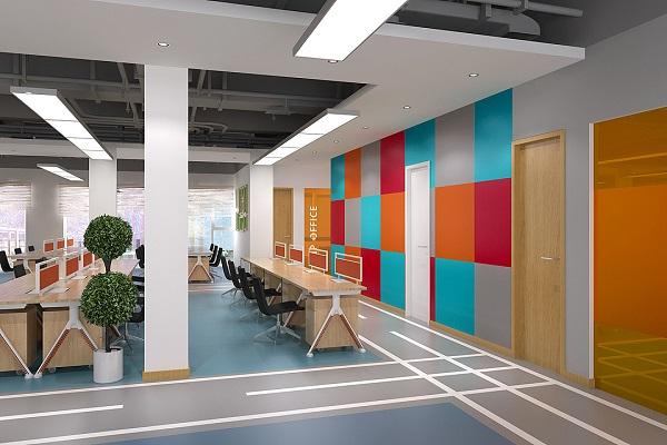 办公室装饰颜色的选择,基本元素