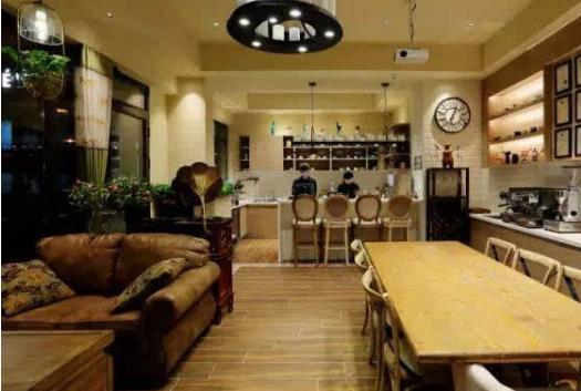 咖啡店的店面装修设计应该如何设计