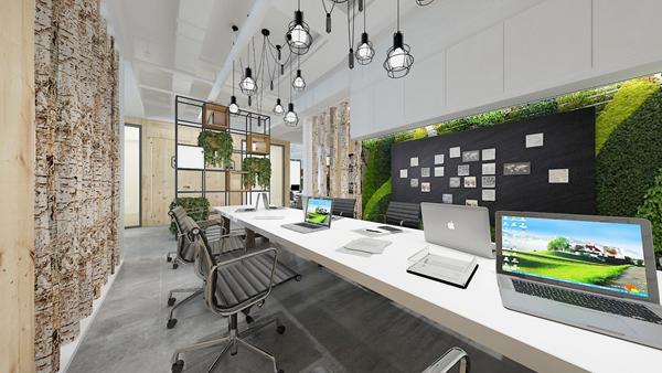 成都办公室装修设计之高端专业办公室