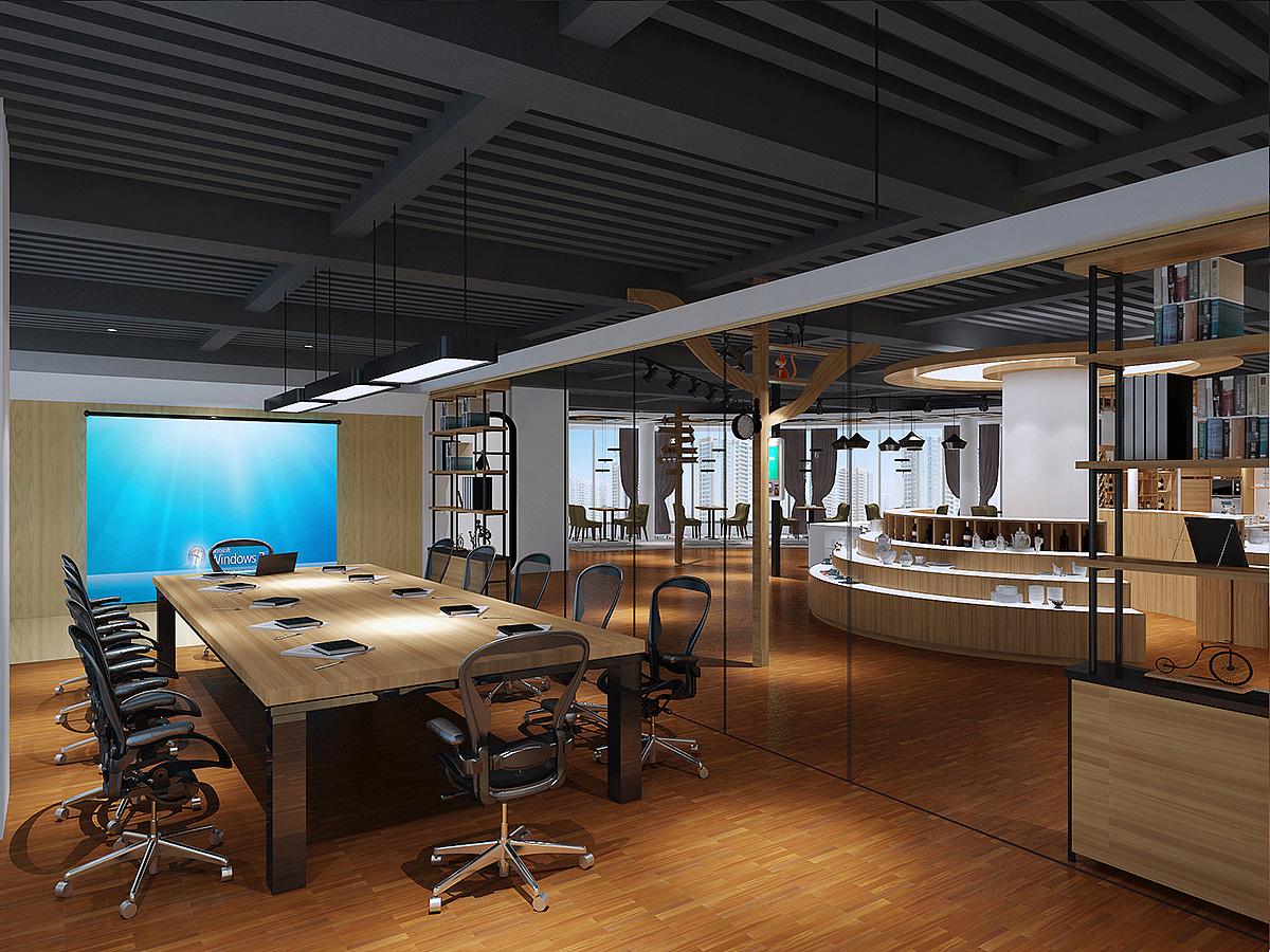 成都500平米办公室装修设计/500平米办公室怎么装修?