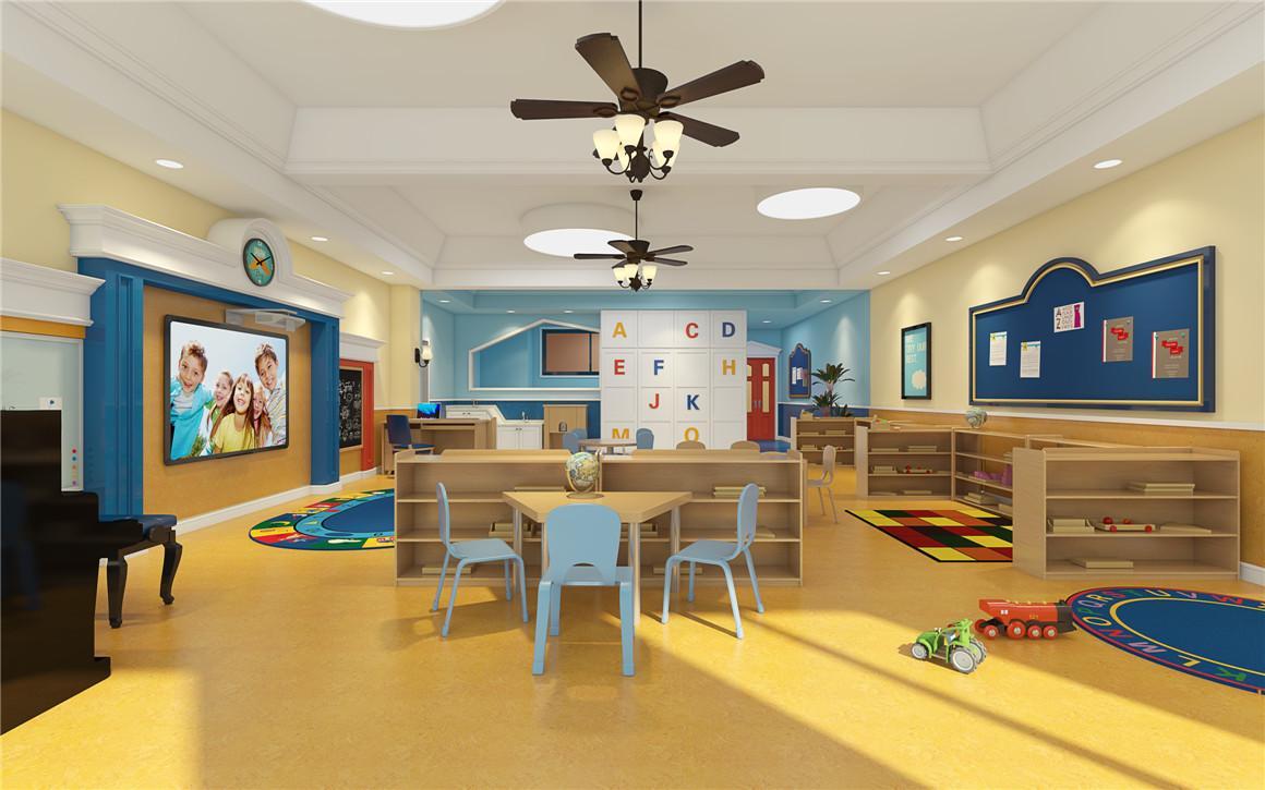 成都现代风格幼儿园装修设计/现代风格幼儿园怎么装修?