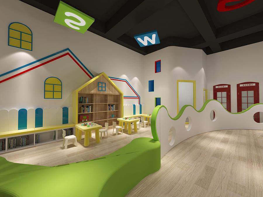 成都亲子主题幼儿园装修设计/亲子主题幼儿园装修设计要点