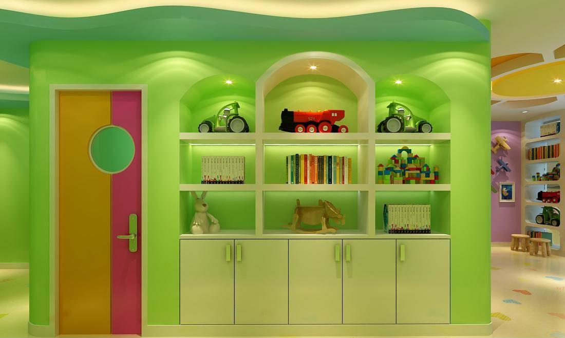 成都1500平米幼儿园装修设计/1500平米幼儿园装修风格