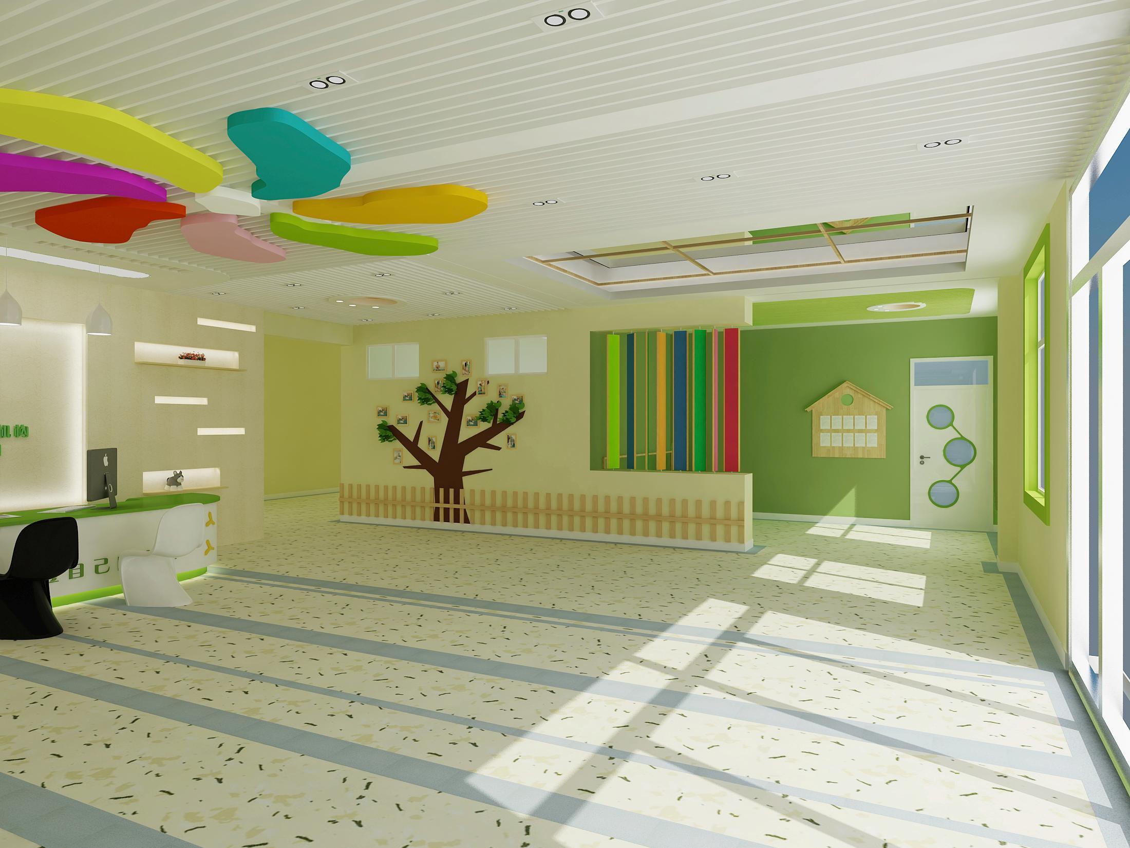 成都大型亲子幼儿园装修设计/大型亲子幼儿园怎么装修?