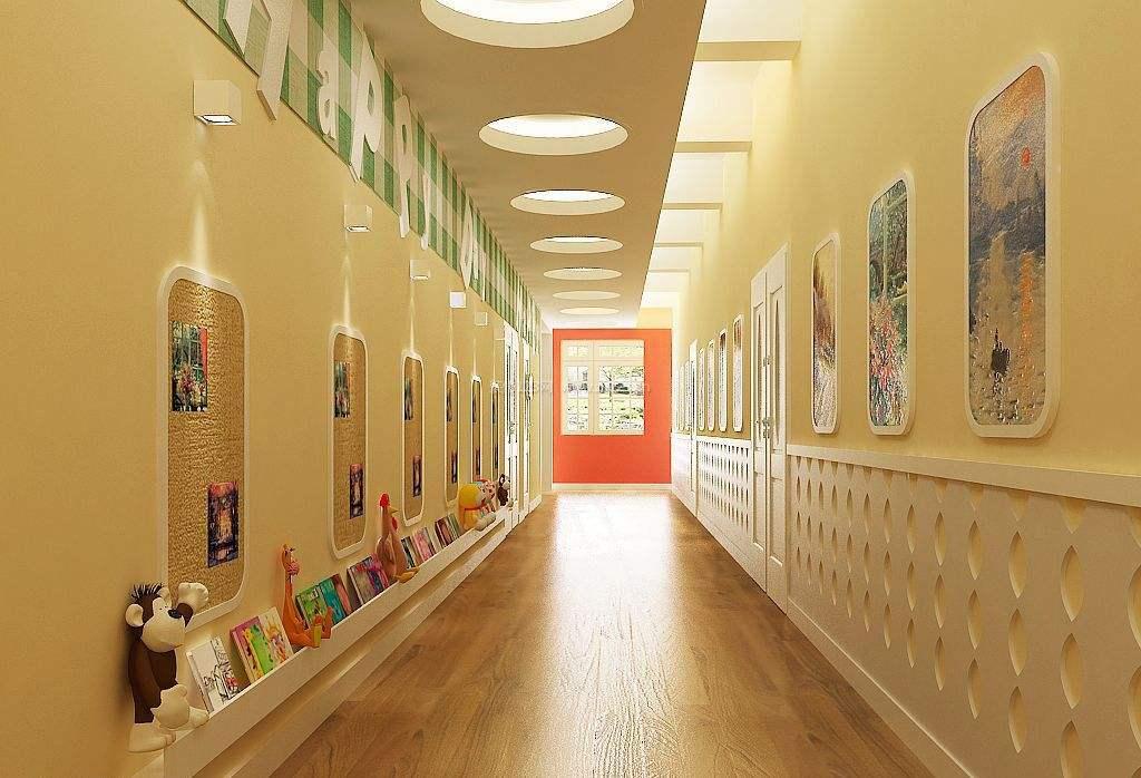 成都现代创意幼儿园装修设计/现代创意幼儿园怎么装修?