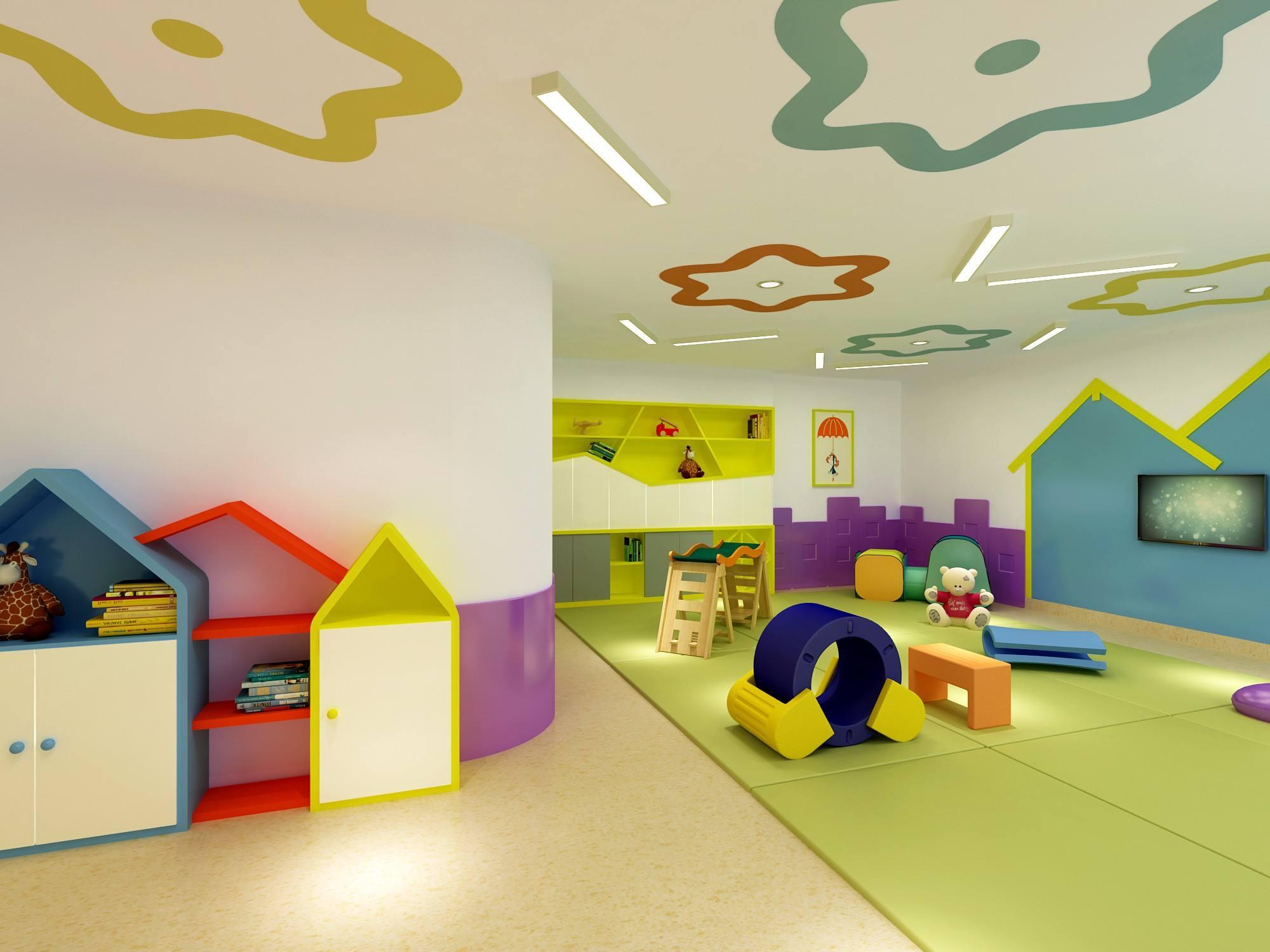 成都简约个性幼儿园装修设计/简约个性幼儿园怎么装修?