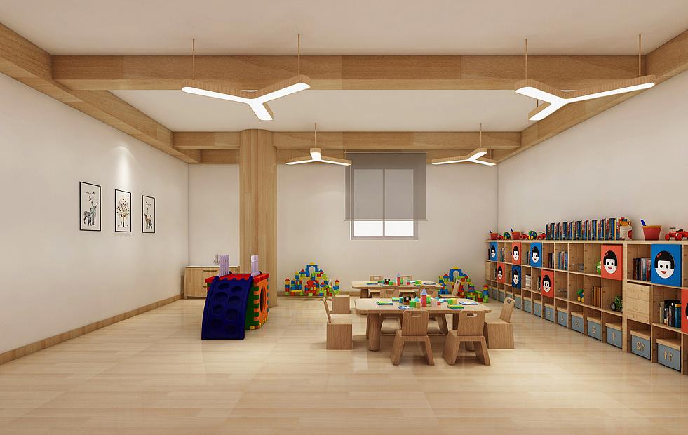 成都简约大气幼儿园装修设计/简约大气幼儿园怎么装修?