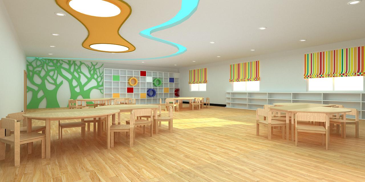 成都现代户外幼儿园装修设计/现代户外幼儿园怎么装修?