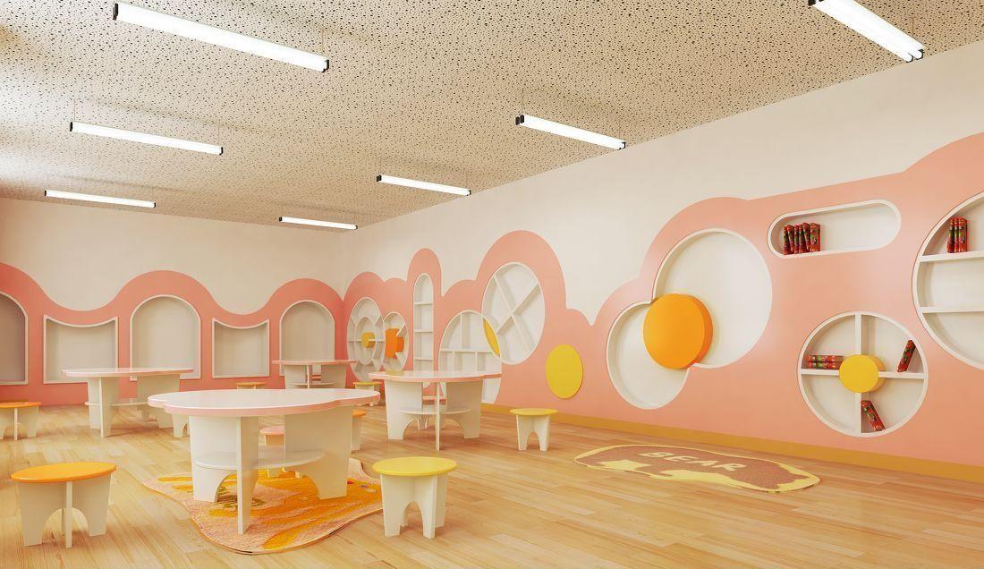 成都900平米幼儿园装修设计/900平米幼儿园怎么装修?
