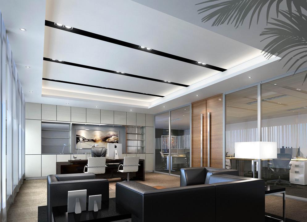 绵阳现代风格办公室装修设计/现代风格办公室怎么装修?