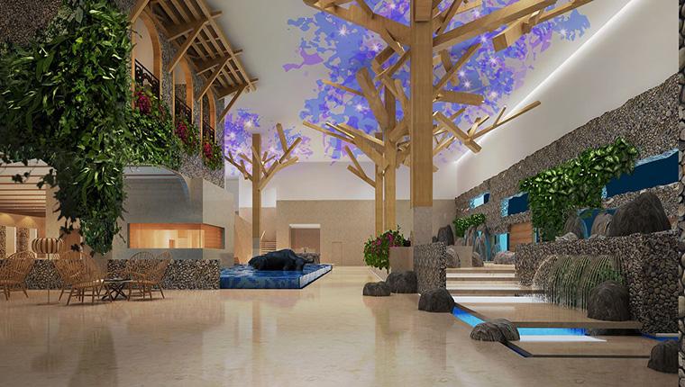 简阳温泉酒店装修设计/简阳温泉酒店如何装修设计?