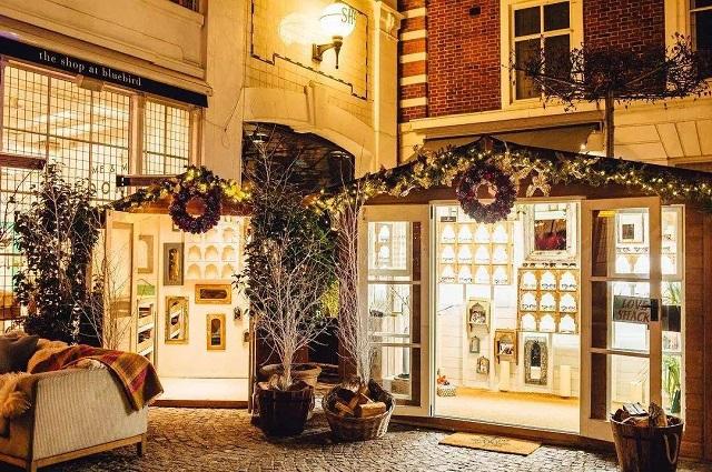 成都餐厅餐厅装修设计理念,成都英伦风餐饮店设计