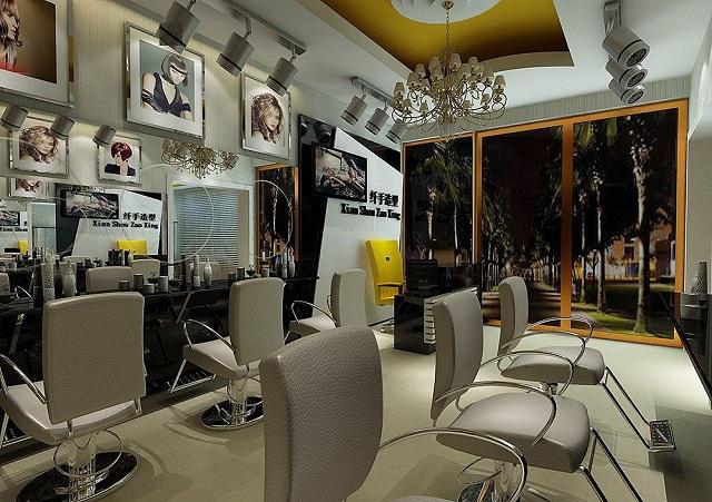 成都理发店装修设计,成都小面积理发店如何装修