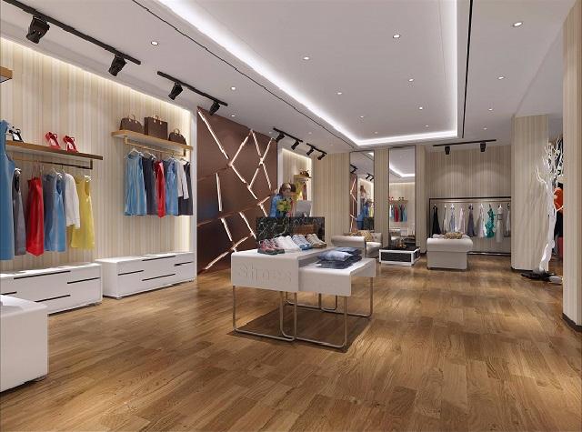 成都内衣店装修设计,成都服装店装饰设计