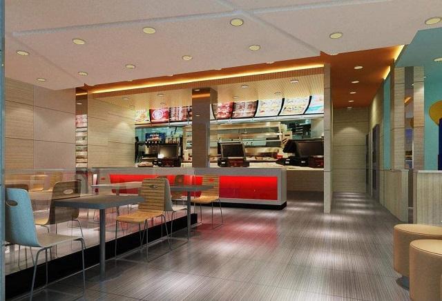 成都的早餐店装修设计,成都快餐店装修设计