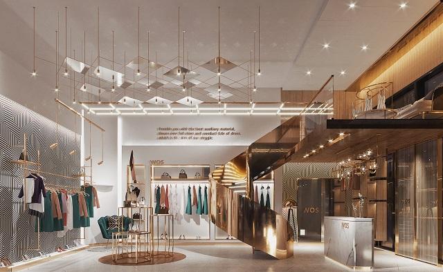 成都服装店设计装修设计,成都个性服装店装修设计