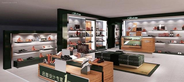成都成都鞋店装修设计,成都20平方的鞋店装修效果图