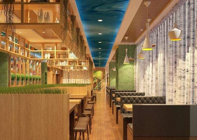 成都餐厅装修设计步骤,成都餐厅装修案例效果图