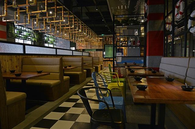 成都高档快餐厅装修,成都简约小快餐厅装修设计