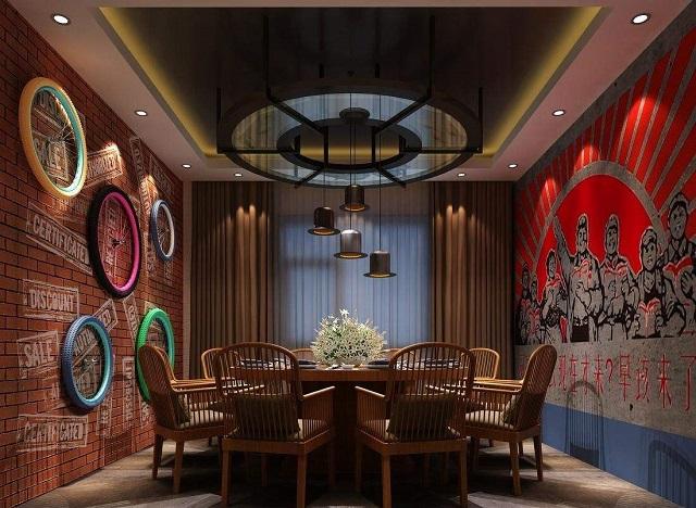 成都餐厅装修风格,成都小型快餐厅装修设计