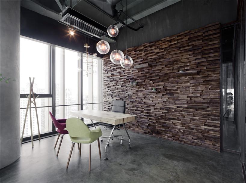 成都工业风办公室装修设计「卓巧」成都工业风办公室装修设计