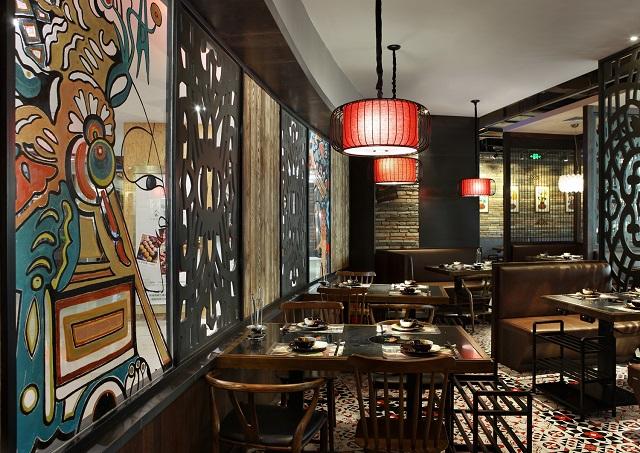 成都专业快餐厅装修风格,成都专业的快餐厅室内设计