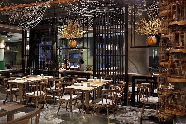 成都私房菜饭馆设计装修,成都私房菜馆设计工程装饰