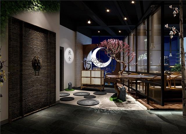 成都现代中式餐厅装修,成都中餐小饭馆装修效果图