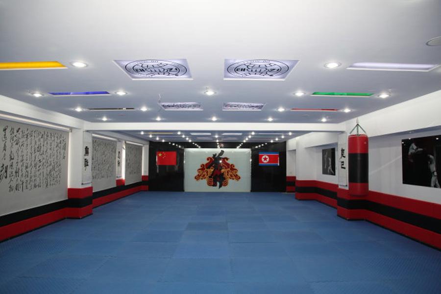 成都跆拳道馆装修设计、成都少儿跆拳道馆培训室怎么设计?