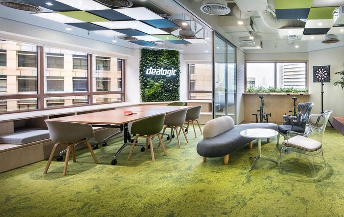 成都金融办公室装修设计、成都财务办公室独具一格的设计