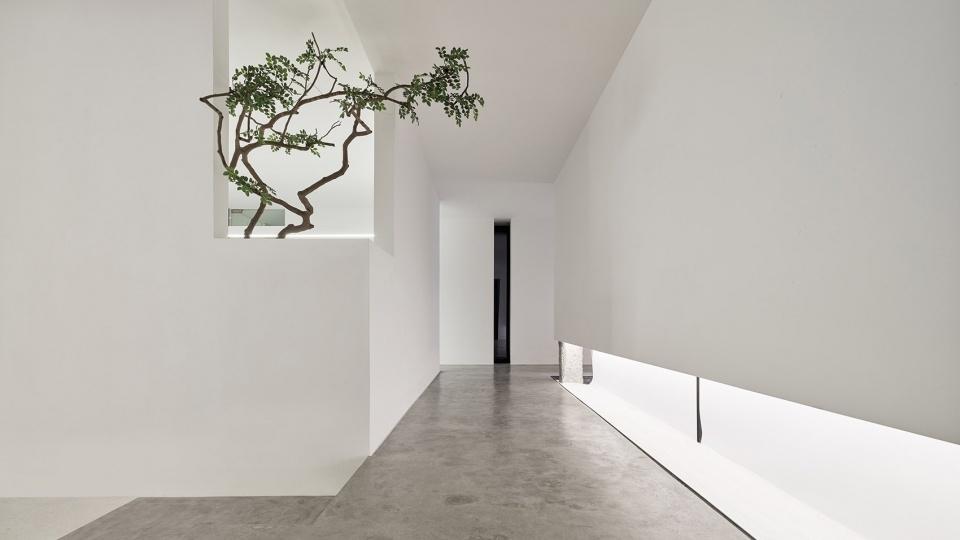 成都佛系办公室装修设计、成都禅意中式办公室设计
