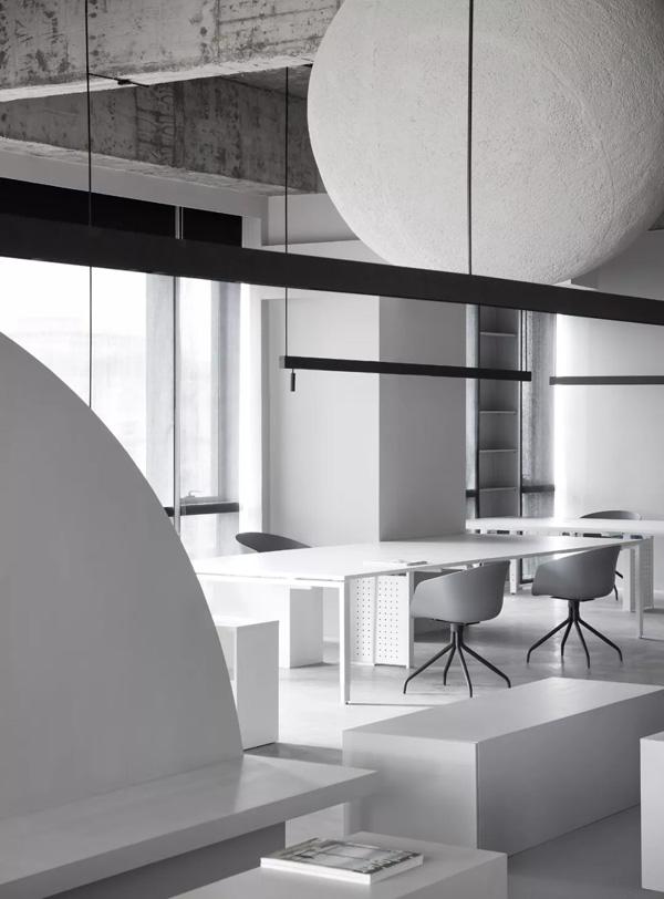 成都极简办公室装修设计、成都艺术设计办公室