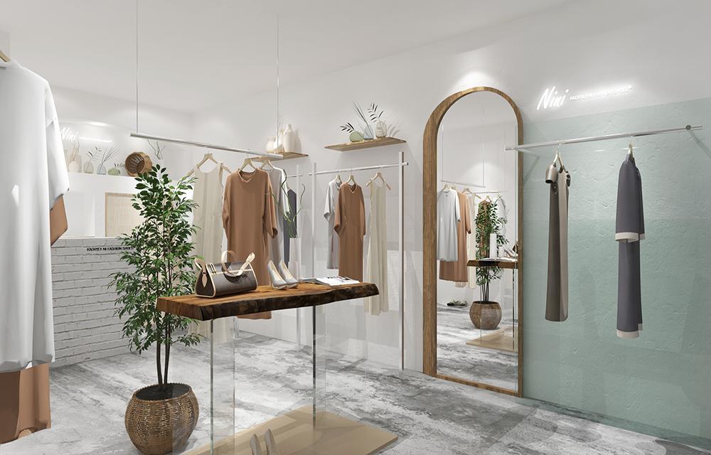 成都服装店装修如何设计,成都服装店室内设计风格