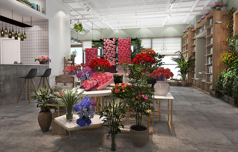 成都花店装修设计,成都花店装修设计风格有哪些?