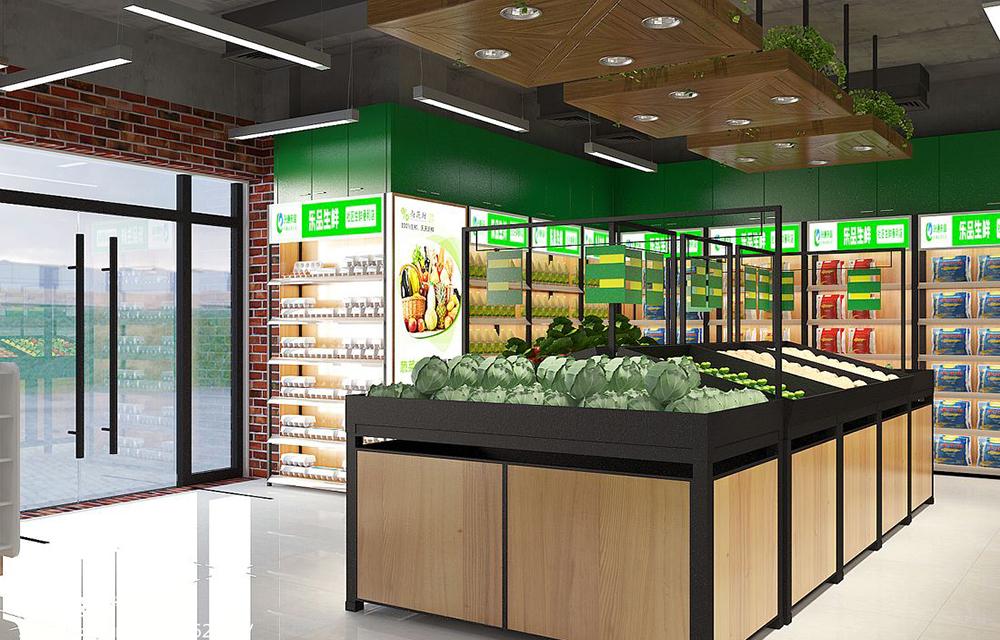 成都生鲜超市装修,生鲜超市需要注意的有哪些?