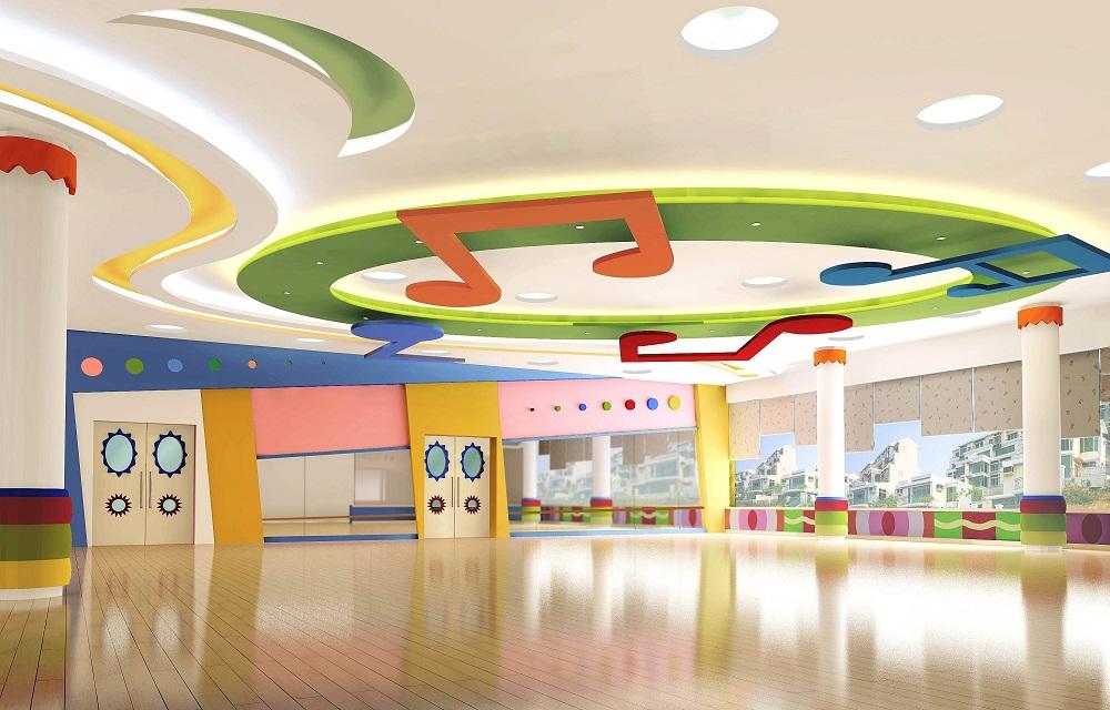 成都装修幼儿园,儿童休息室的贴心设计