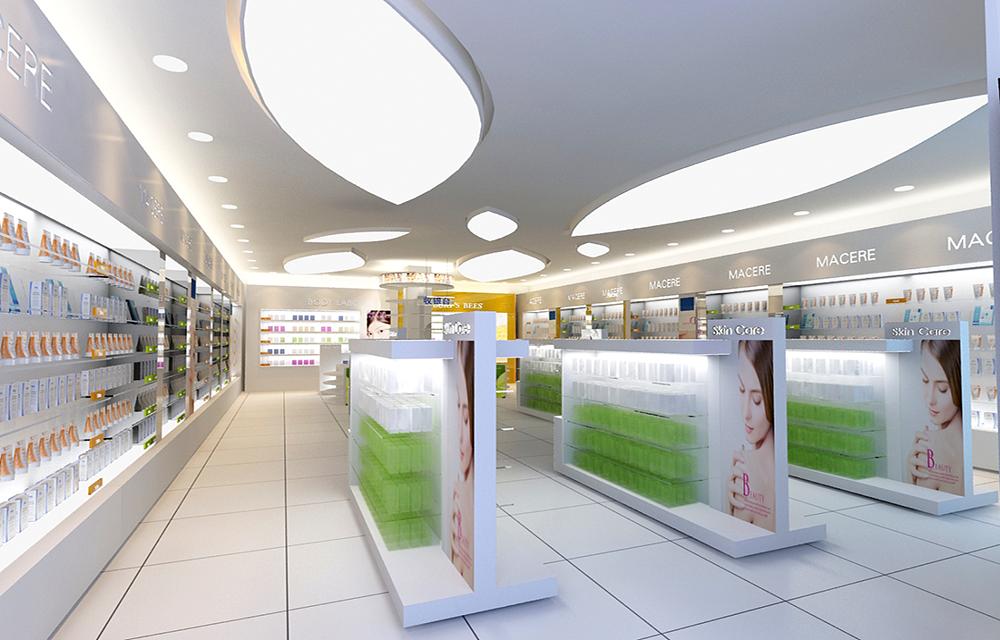 成都化妆品店装修,成都化妆品店的设计技巧有哪些?