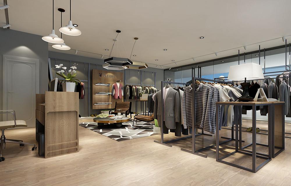 成都服装店装修设计,成都男士服装店该怎么装修设计?