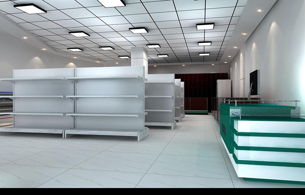 成都药店装修设计,如何让顾客有舒适的购物体验?