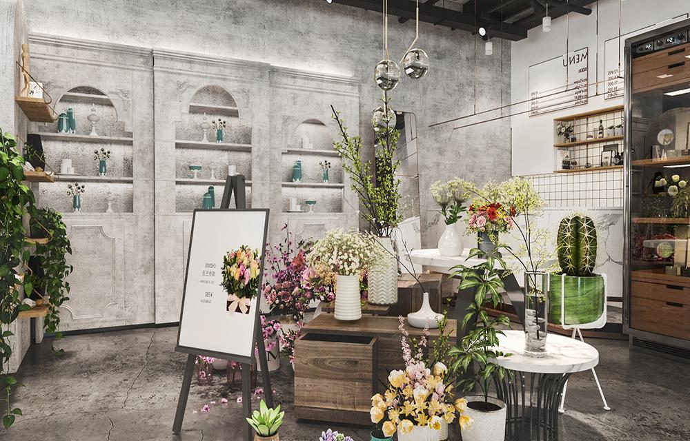 成都花店装修设计,花店应该怎么装修比较好?