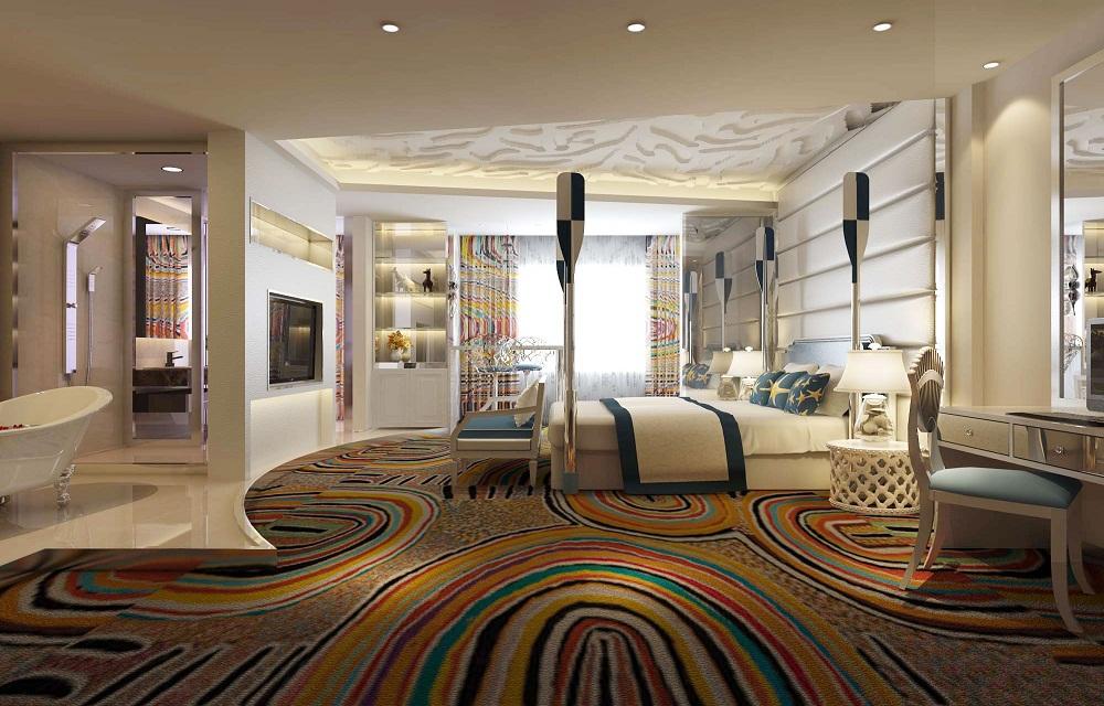 酒店装修客房设计,让顾客有一种回家的感觉