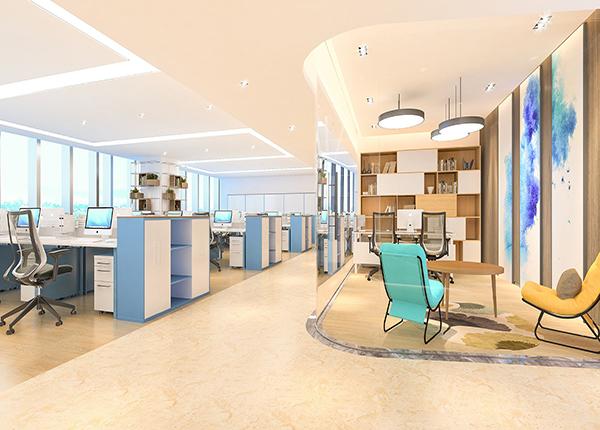 成都办公室装饰设计,原来玻璃办公桌能提升办公环境!