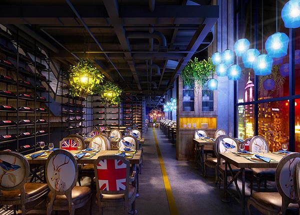 专属于儿童的主题餐厅装修设计,身处于童话世界