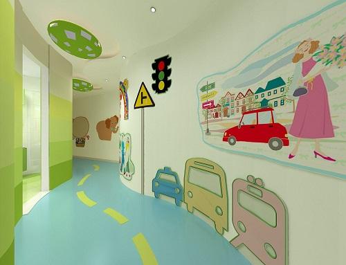 成都幼儿园装修,配置场所