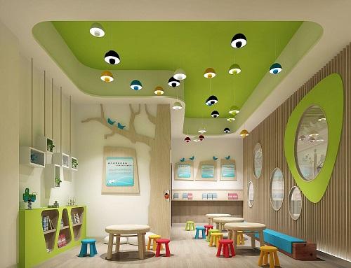 成都幼儿园装修,室内布局的实用性
